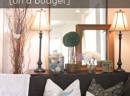 How to add character to your home (on a budget): Nice blog