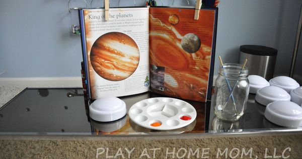 Push Light Planets invitation