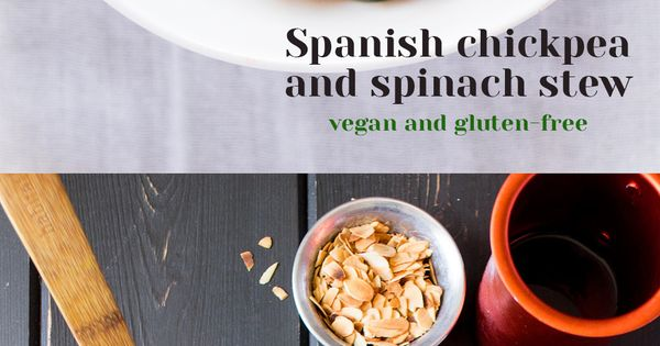 Spanish chickpea and spinach stew | Recipe | Chickpeas, Stew and ...