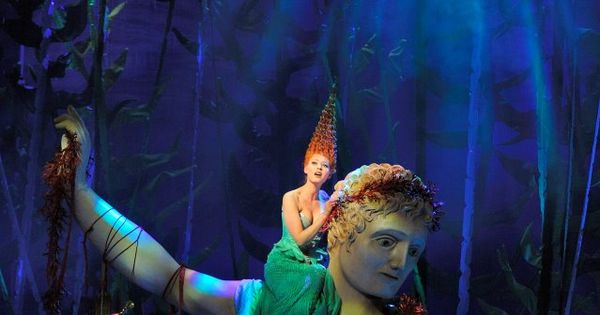 An underwater scene from Disney's THE LITTLE MERMAID in ...