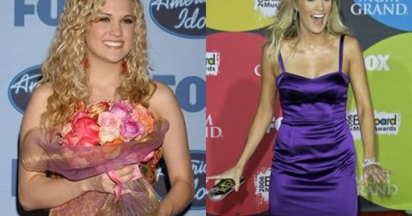 Question not Carrie underwood is chubby