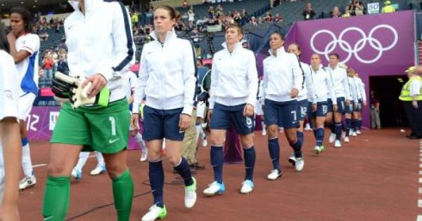 Gold Medal Will Bring More Green To U S Women S Soccer Team Women S Soccer Team Womens Soccer Usa Soccer Women