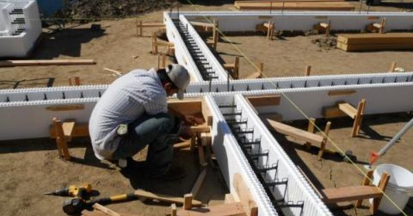 High performance foundation technology insulating for Icf basement construction