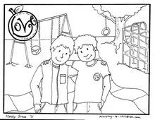 34++ Love your neighbor as yourself coloring page HD