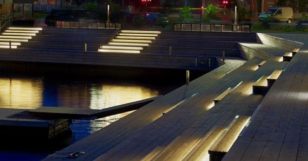 solbryggor i hudiksvall ljusarkitektur ljusdesign lighting design stockholm sweden. Black Bedroom Furniture Sets. Home Design Ideas