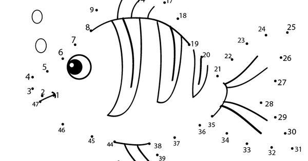 SEA LIFE Dot To Dot - FISH Dot To