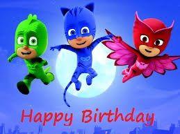 Pj Mask Birthday Pj Masks Birthday Free Birthday Greeting Cards