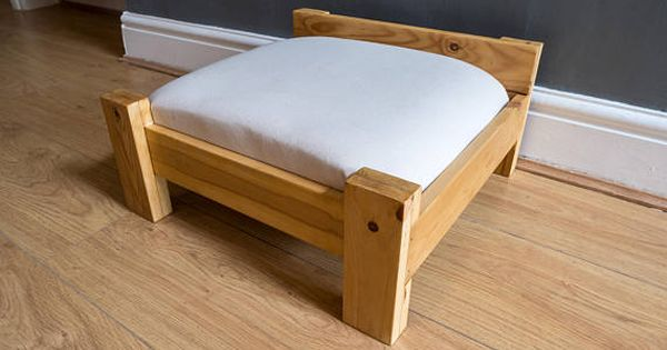 Bed Kat Hond Bed Huisdier Bed Met Matras Voor Kleine Kat Dog Bed Reclaimed Pine Bed Bed