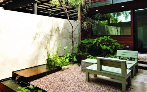 Austin Modern Landscape Design, Pictures, Remodel, Decor and Ideas Urban Jobe Architecture