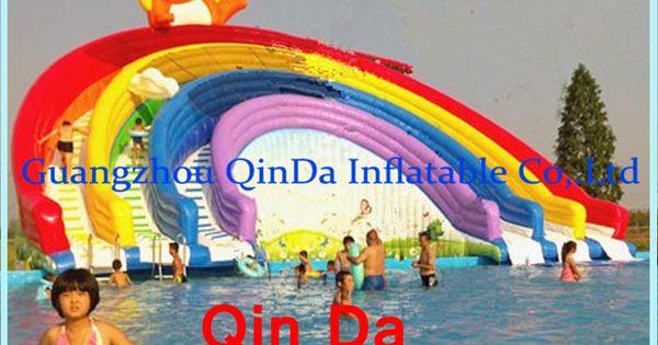 pas cher qinda toboggan gonflable pour piscine gonflable avec