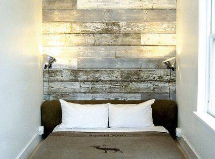 ace hotel pendelton blanket + head board/ wall