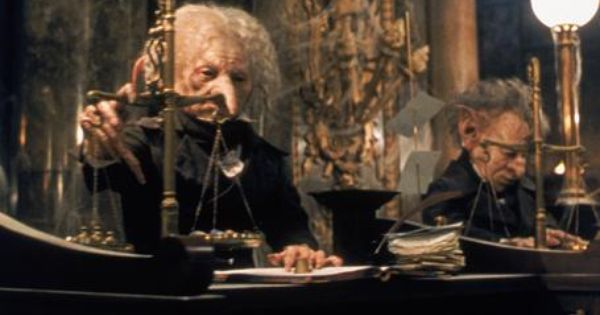 Image result for harry potter bank tellers