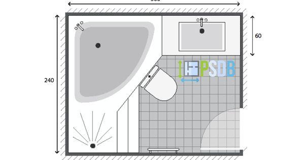 Exemple De Plan De Salle De Bain De 7m2 Avec Images Plan Salle