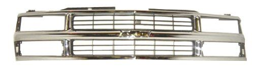 Oe Replacement Chevrolet Grille Assembly Partslink Number Gm1200238 1998 Chevy Silverado Chevrolet Blazer