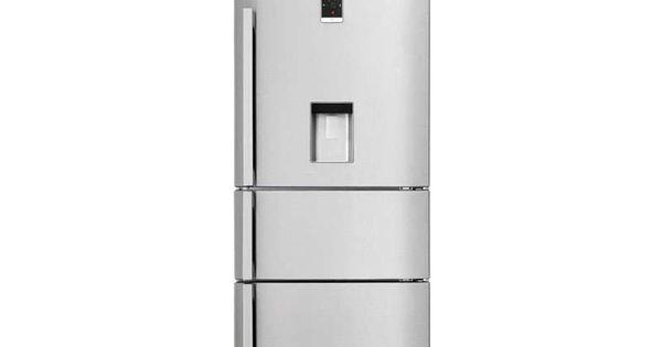 R frig rateur combin 467 litres beko cn151920 dx prix for Refrigerateur americain miroir
