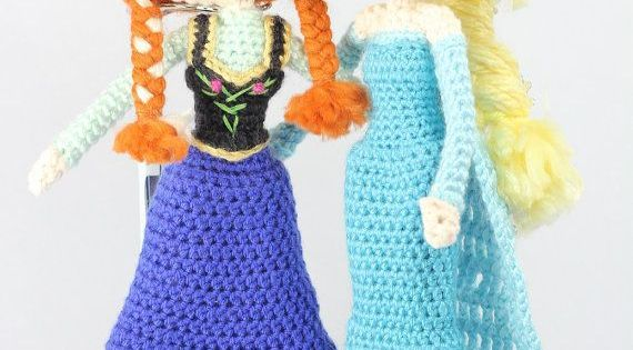 Amigurumi Elsa Y Ana : Frozen Crochet Pattern Lots of Great Ideas Ganchillo ...