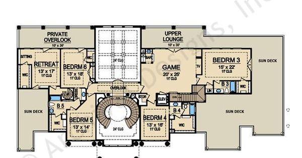 Presidential estate porte cochere house plan luxury for Floor plans with porte cochere