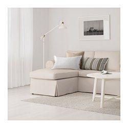 Ektorp Sofa With Chaise Lofallet Lofallet Beige Ektorp Sofa Ikea Sofa Sofa Frame