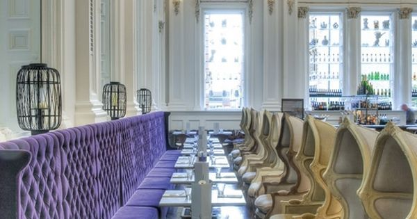 tufted banquette! The Corinthian Club in Glasgow - Home - Atelier Turner