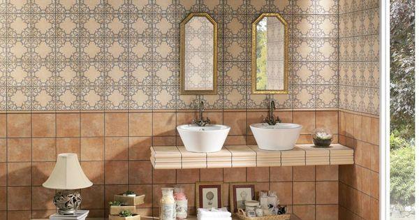 Azulejos para ba os rusticos los azulejos pieza clave a for Azulejos banos rusticos