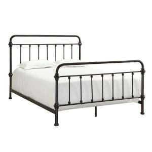 Homesullivan Calabria Antique Brown Full Bed Frame 40e411b211w 3a Bed In 2020 Metal Beds Iron Bed Iron Bed Frame