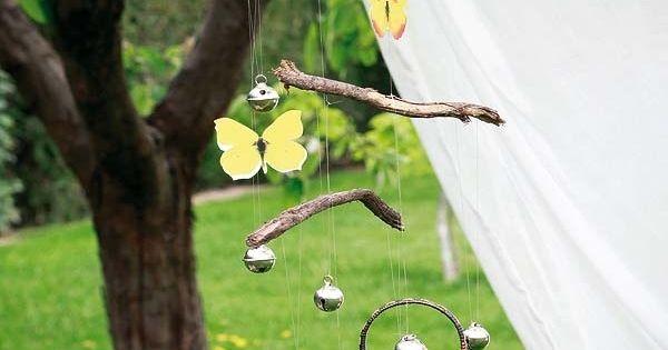 windspiele f r den garten selber basteln ideen dekoration diy pinterest windspiele selber. Black Bedroom Furniture Sets. Home Design Ideas