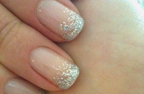 #simplenails glitternails