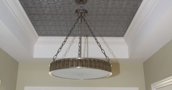 Tray Ceiling Design, Pictures, Remodel, Decor and Ideas - page 12 : At home : Pinterest ...
