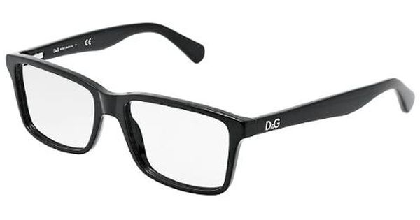 Black Frame Glasses For Guys : Dolce & Gabbana Eyewear: model DD 1240 - Men Ophthalmic ...