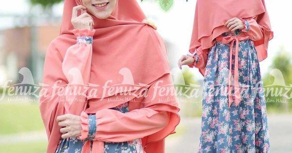 Gamis fenuza muslim wear allysa series al14 baju gamis Baju gamis yg lg ngetren