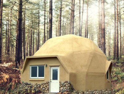 Interested in tiny dome home kits for special hideaway for Vacation cabin kits