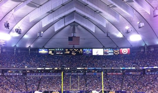 Minnesota Vikings Stadium End Of The Dome Soon And