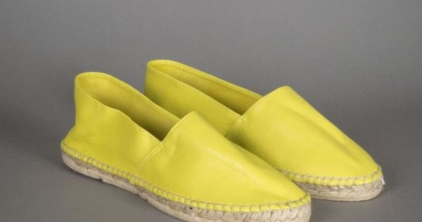 Lika Mimika Leather Espadrilles: The new Tom's? Made in Spain of very