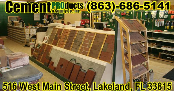 Brick Showroom In Lakeland Fl Glass Blocks Build Your Dream Home Stone Masonry