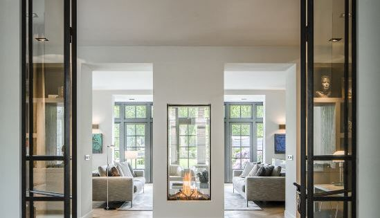 Modern Direct Vent Fireplace More Living Spaces