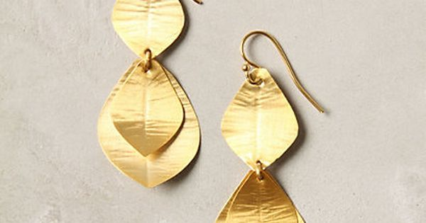 Layered Leaf Drops Online Exclusive STYLE 24031916 $38 -Love these!
