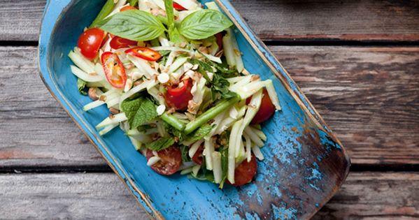 foodanddrink recipes hairy bikers thai green papaya salad recipe