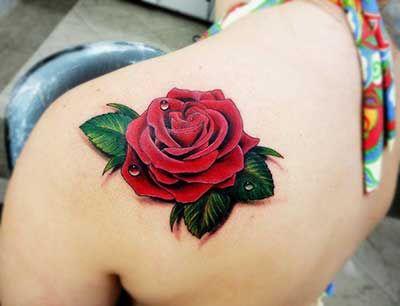 59 Tatuagens De Rosas Nas Costas Na Coxa Na Perna No Pé