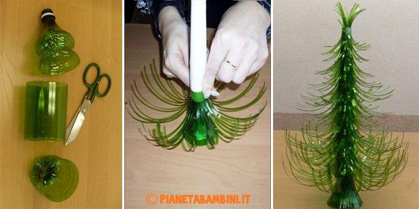 Come Creare Un Alberello Di Natale Con Bottiglie Di Plastica