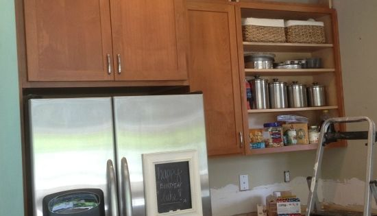 Filling In That Space Above The Kitchen Cabinets Empty