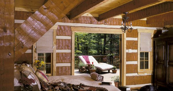 Lifeline interior dark natural log home stain and perma for Lifeline interieur