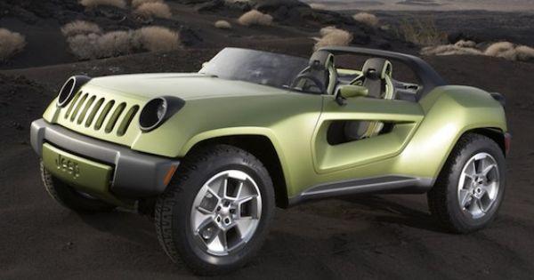 Awesome Futuristic Jeep Jeep Renegade Jeep Concept Concept Cars
