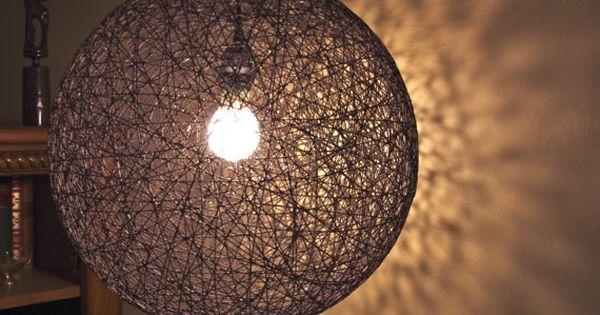 Hanging Sphere String Light (18