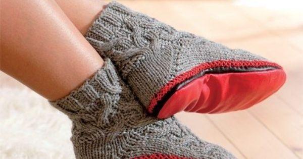 вязание тапочек-шлепок крючком