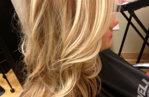 Warm dimensional Blonde Hair | Awesome hair style ✂ | Pinterest