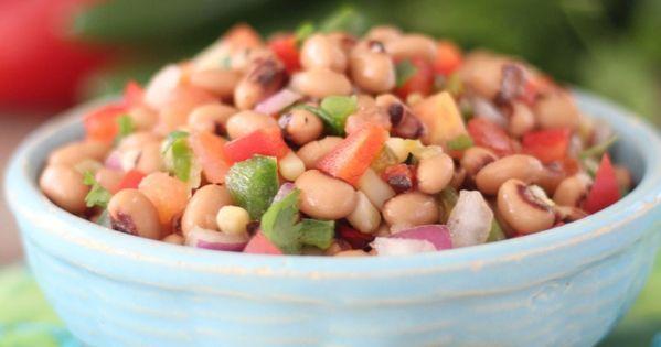 Texas Caviar (Black-Eyed Pea Dip). Black-eyed peas bring good luck and ...