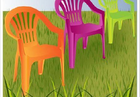 Comment peindre des chaises de jardin en plastique bricolage decoration and outdoor life for Peindre chaise plastique
