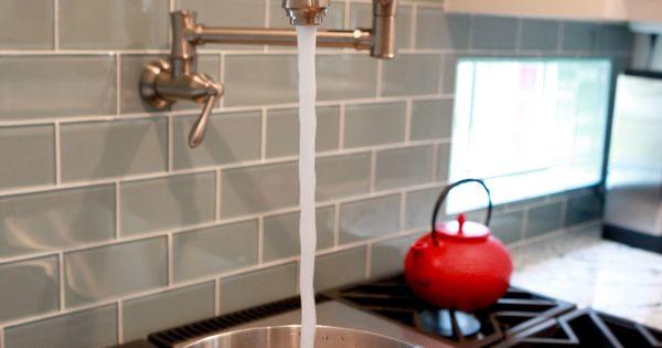 Kitchen Tile Backsplash Home Style Pinterest Pot Filler Faucets And Tiles