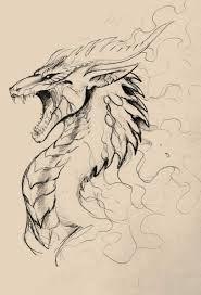 Resultado De Imagen Para Dibujos A Lapiz Dibujos Dibujo De Dragon Dragones