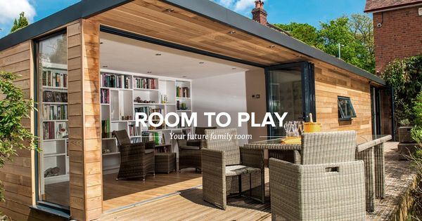 A Bespoke Luxury Garden Room Living Space Created This